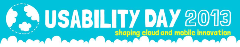Usability Day Header